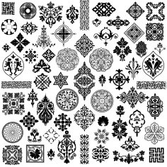 Exquisite Pattern Vector Classical Tradition Free Vector