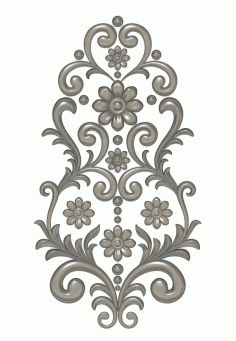 Cnc Wood Carving Design stl File
