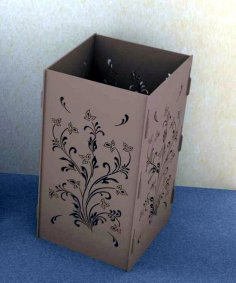Laser Cut Decorative Vase Floor Vase Decor Free Vector