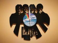 Orologio Vinile LP Beatles clock dxf file