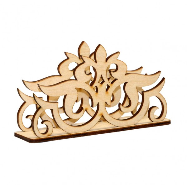Laser Cut Decorative Napkin Holder Template Free Vector