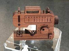 Laser Cut Sewing Machine Toy SVG File