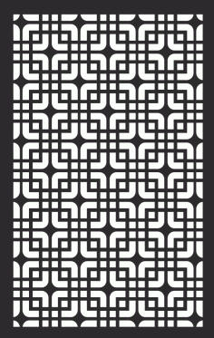Geometric Panel Pattern DXF File