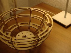 Laser Cut Bowl PDF File