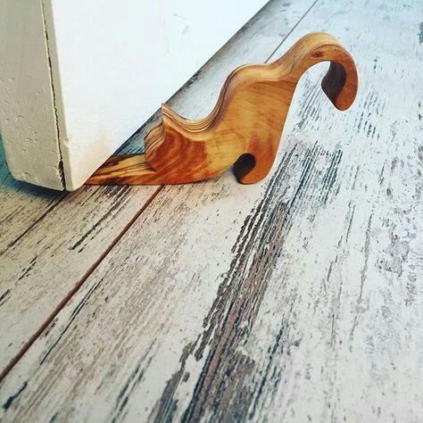 Cat Wooden Door Stop Wedge CNC Cut Template Free Vector
