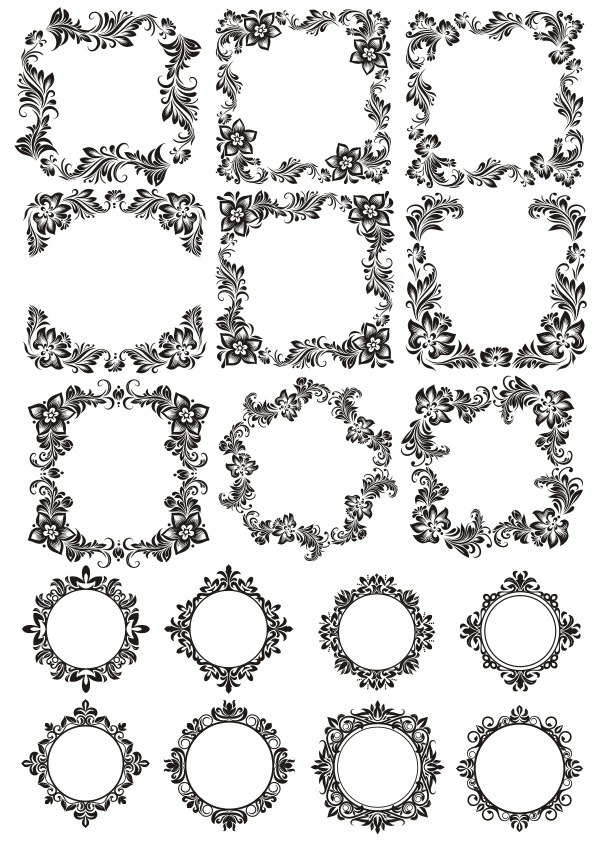 Flowers Ornament Free Vector