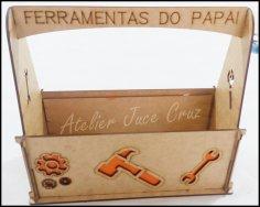 Caixa Ferramentas Do Papai DXF File
