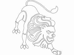 Leo dxf File