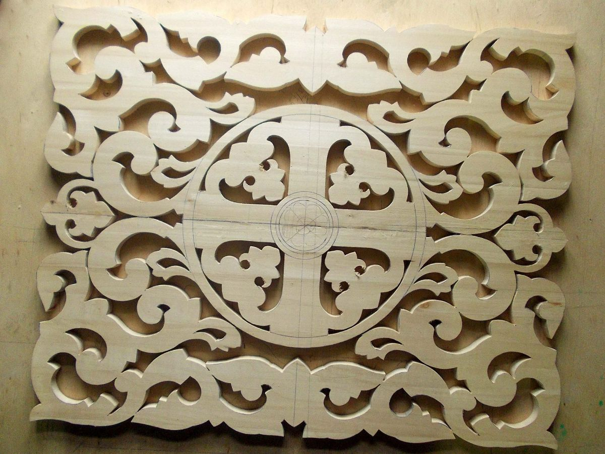 Svg Cut File Wood Pattern Laser Cut SVG File