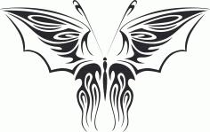 Butterfly Vector Art 012 Free Vector