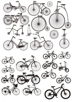Bicycles Stickers