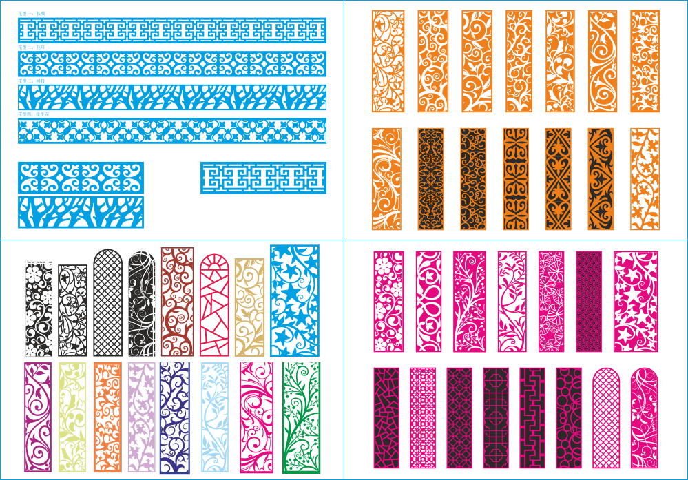 Screen Patterns Mega Collection Free Vector
