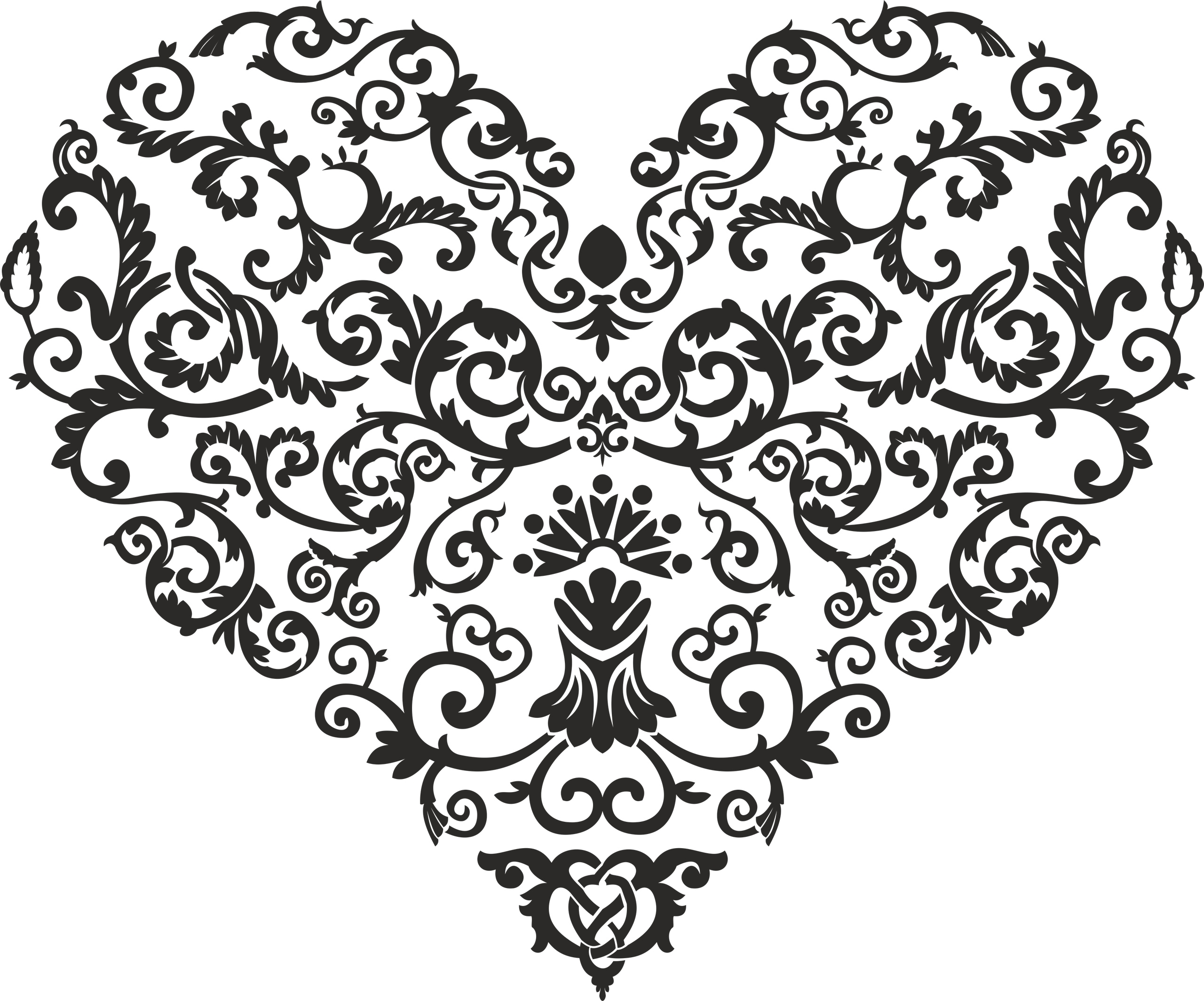 Shaped Heart Vector Free Vector