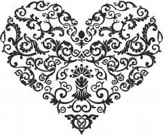 Shaped Heart Vector