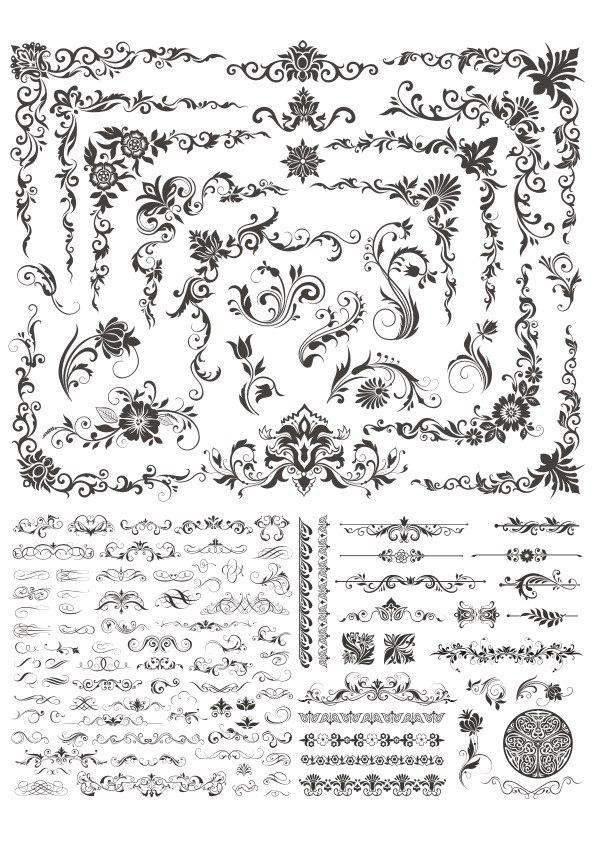 Floral Decor Elements