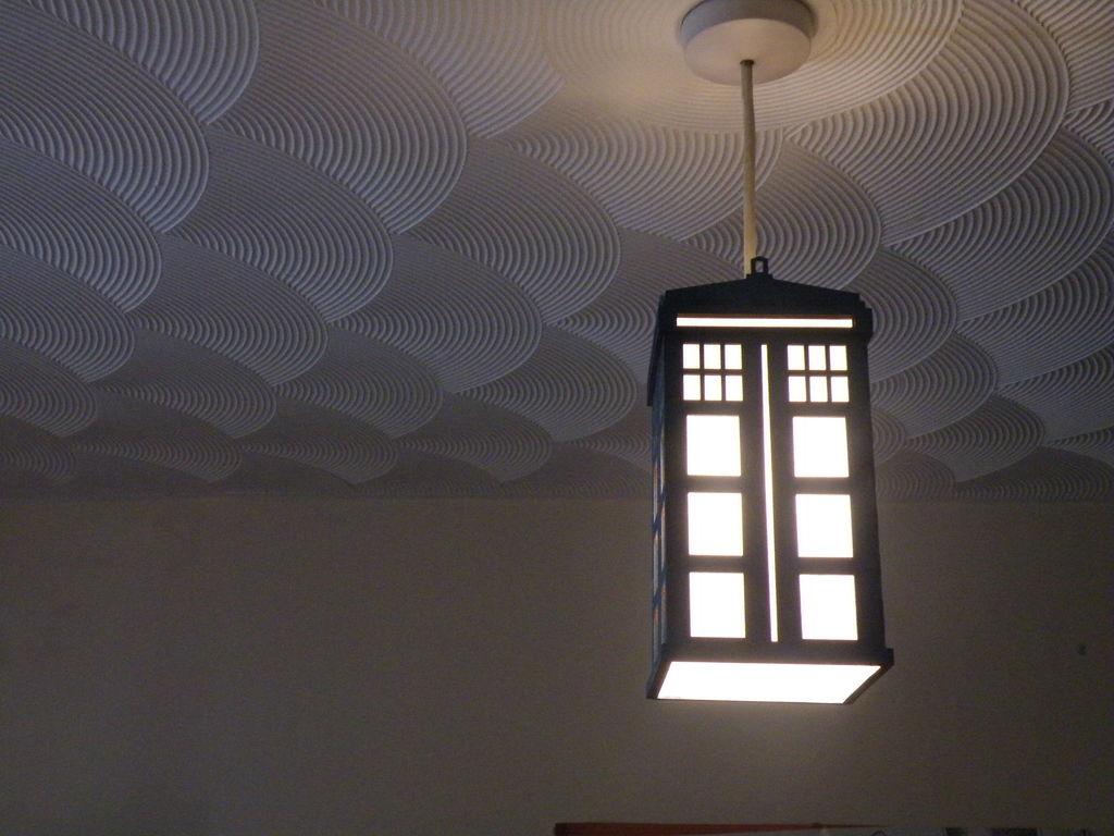 Tardis Lamp DXF File