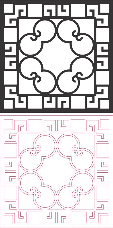 Dxf Pattern Designs 2d 156 DXF File