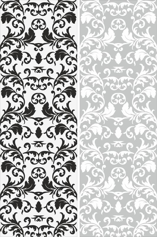 Seamless Victorian Pattern Free Vector