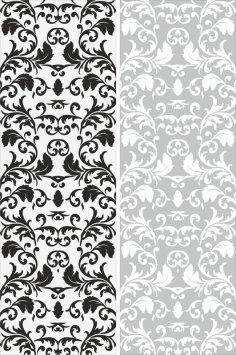 Seamless Victorian Pattern CDR File