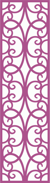 Laser Cut Vector Panel Seamless 173 Free Vector