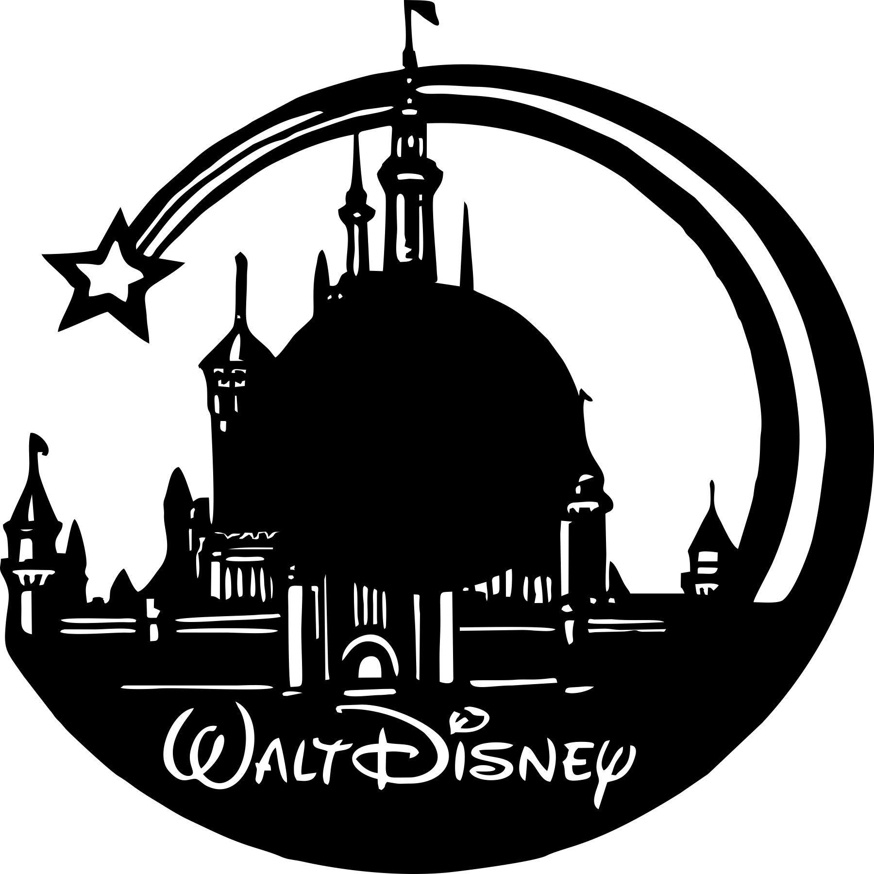 Walt Disney Vinyl Wall Clock Free Vector