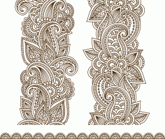 Vector Illustration Mehndi Vector Free Vector