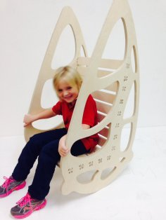 Buterfly Chair Laser Cut CNC Plans PDF File