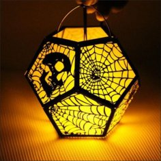 Halloween 3D Lamp Free Vector