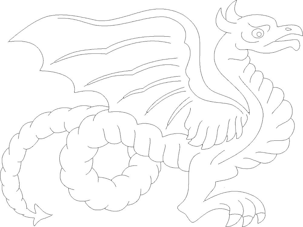 Dragon 7 DXF File
