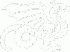 Dragon 7 DXF File