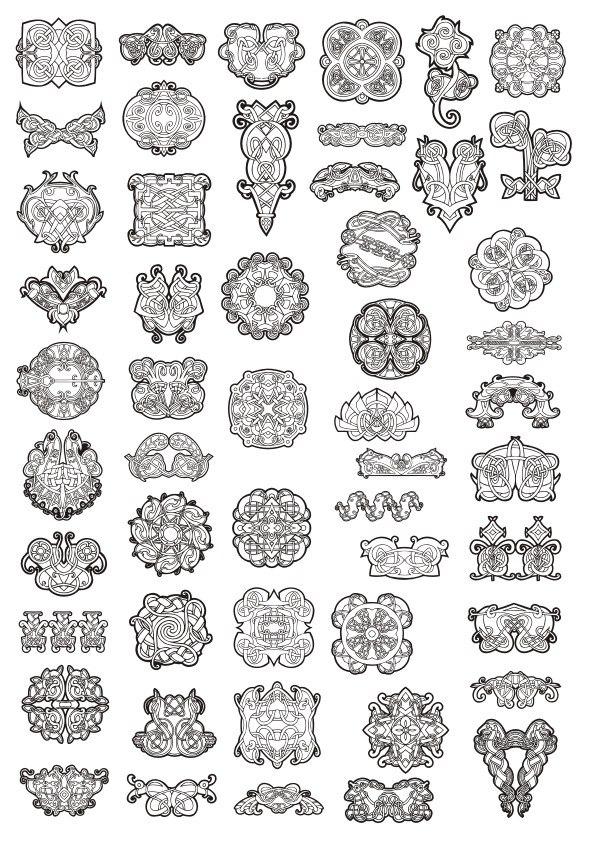 Celtic Ornament Elements