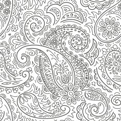 Handdrawn Ornament Pattern Free Vector