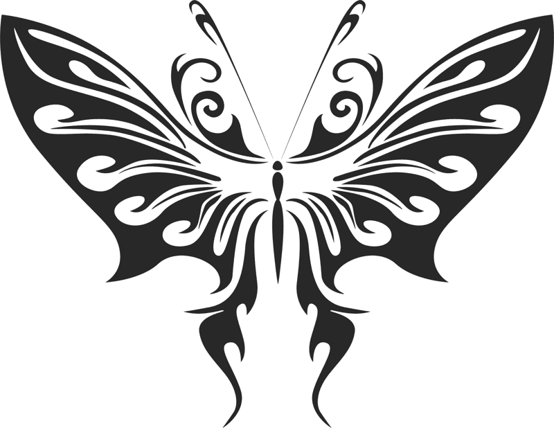 Butterfly Vector Art 008 Free Vector