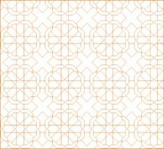 Modern Jali Design DWG File