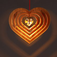 Lamp Fiery Heart Danko Free Vector