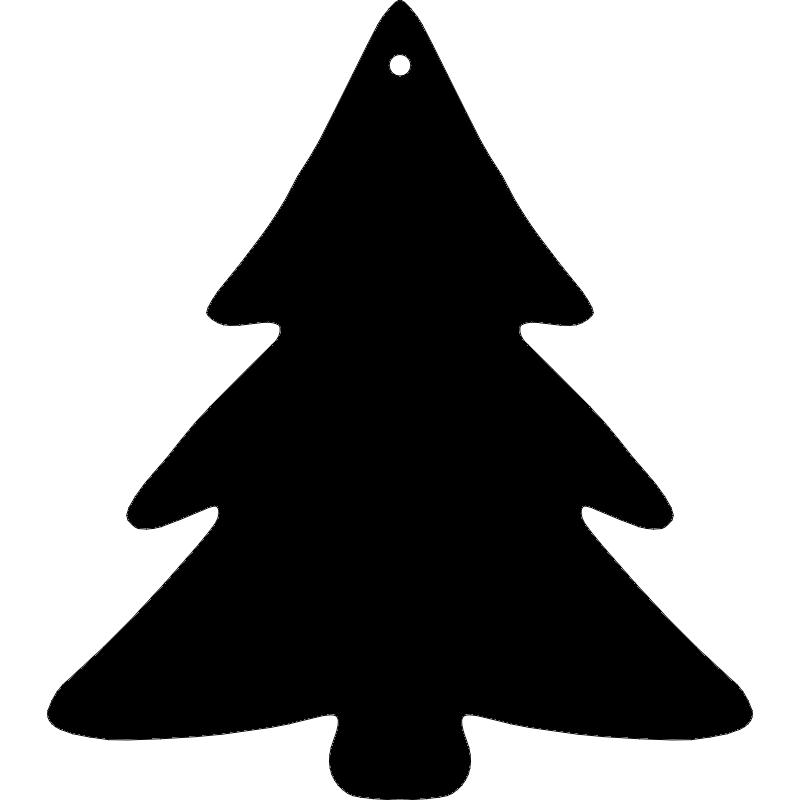 Christmas Tree dxf File