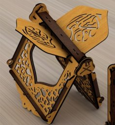 Laser Cut Quran Holder Gift For Muslims Free Vector