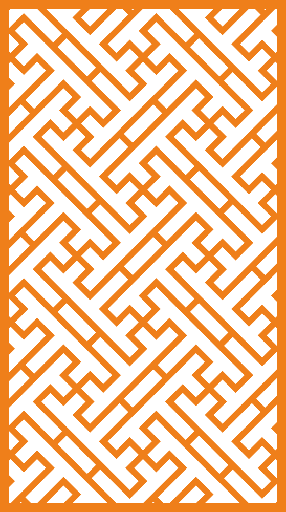 Geometric Pattern for Screen Panels Free Vector