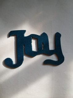 Joy Ornament DXF File
