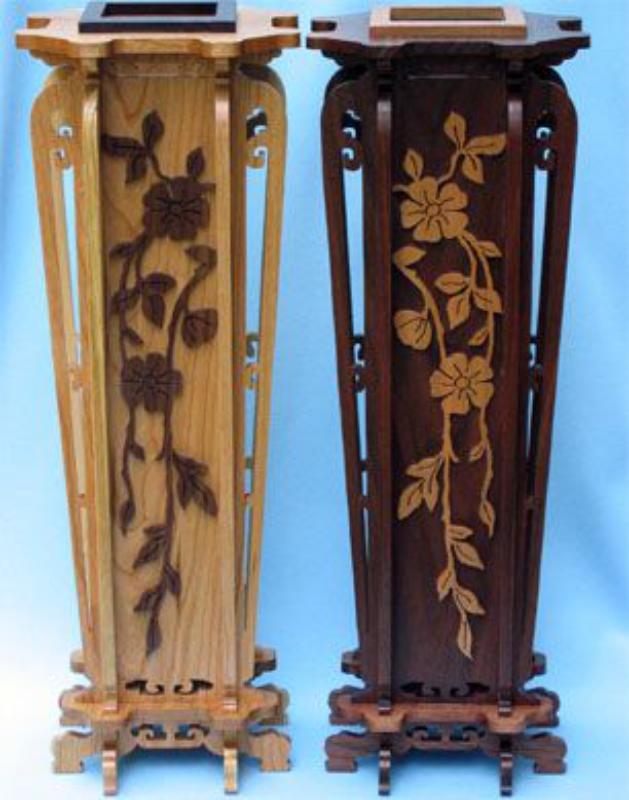 Laser Cut Decorative Vase Free Vector