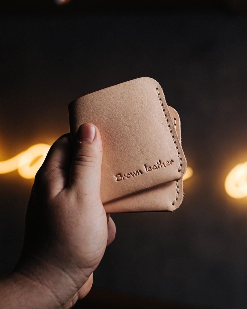 Laser Cut Leather Wallet Purse Bi-Fold Men Wallet PDF File