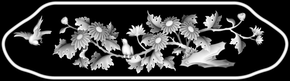 3d Grayscale Image 205 BMP File