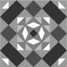 Vector illustration of Arabesque Design Ai File