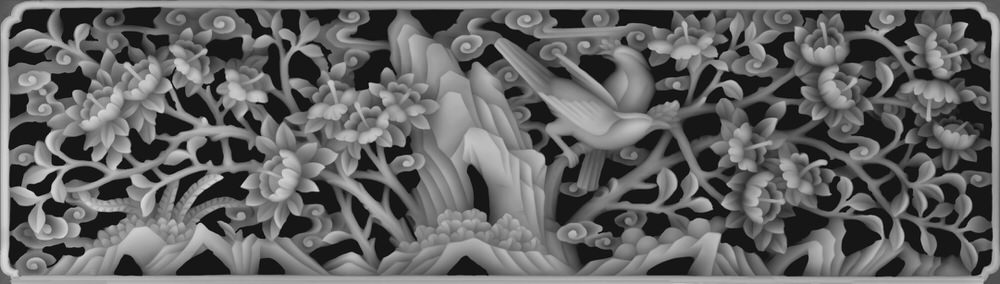 3D Grayscale Image 151 BMP File