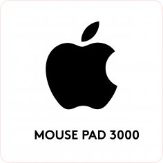 Laser Cut Engrave Mouse Pad 3000 Template Free Vector