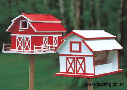 Barn House And Feeder Laser Cut PDF File