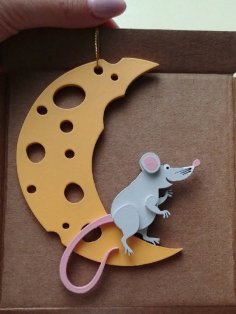 Laser Cut Mouse DXF File