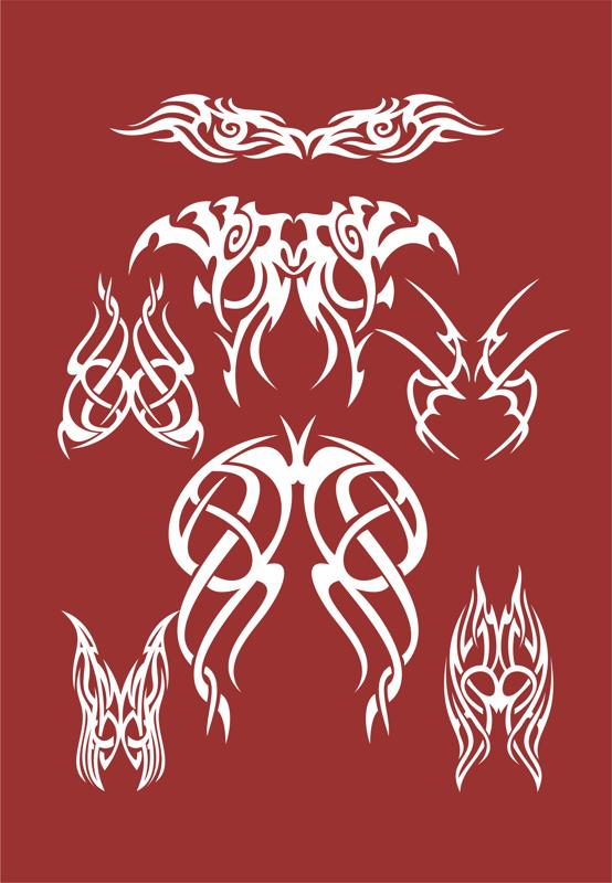 Tribal Logo Free Vector