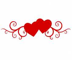 Happy Valentine's Day Stickers Free Vector