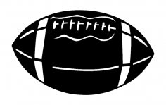 Football 2 dxf File